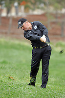 Damien McGrane takes his 2nd shot on the first hole of the 3rd round of the Open de Espana in Madrid..Photo NEWSFILE/Eoin Clarke.(Photo credit should read Eoin Clarke/NEWSFILE)....This Picture has been sent you under the condtions enclosed by:.Newsfile Ltd..The Studio,.Millmount Abbey,.Drogheda,.Co Meath..Ireland..Tel: +353(0)41-9871240.Fax: +353(0)41-9871260.GSM: +353(0)86-2500958.email: pictures@newsfile.ie.www.newsfile.ie.FTP: 193.120.102.198..