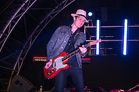 Jon Fratelli (born John Lawler) of The Fratellis performs at AmpRocks 2016 at Ampthill Great Park, Ampthill, England on 1 July 2016. Photo by David Horn.