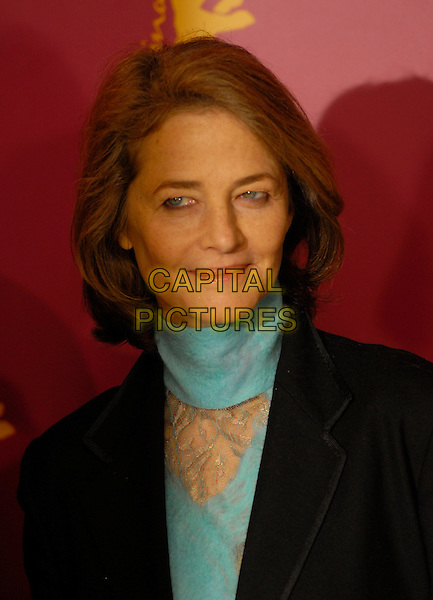 """CHARLOTTE RAMPLING.Photocall for """"Snow Cake"""" at the 56th Berlin (Berlinale) Film Festival, Berlin, Germany..February 9th, 2006.Ref: KRA.headshot portrait.www.capitalpictures.com.sales@capitalpictures.com.©Capital Pictures"""
