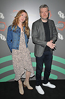 """Annabel Jones and Charlie Brooker at the """"Black Mirror"""" BFI & Radio Times Television Festival screening, BFI Southbank, Belvedere Road, London, England, UK, on Sunday 14th April 2019.<br /> CAP/CAN<br /> ©CAN/Capital Pictures"""