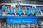 All Ireland Camogie Junior Champions Kerry team homecoming in Causeway on Sunday night.