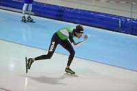SCHAATSEN: HEERENVEEN: 24-10-2013, IJsstadion Thialf, Laatste training voor KPN NK afstanden, Christijn Groeneveld, ©foto Martin de Jong