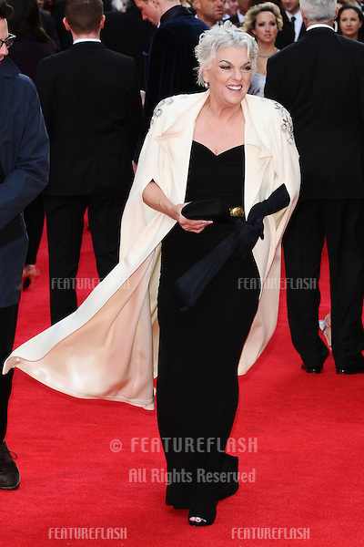 Tyne Daly arrives for the Olivier Awards 2012 at the Royal Opera House, Covent Garden, London. 15/04/2012 Picture by: Steve Vas / Featureflash