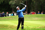 Marcus Fraser's second shot goes out of control on the 15th hole in the the third round of the BMW PGA Championship on the 26th of May 2007 at the Wentworth Golf Club, Surrey, England. (Photo by Manus O'Reilly/NEWSFILE)