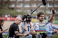 World Champion Peter Sagan (SVK/Bora-Hansgrohe) wins the 116th Paris-Roubaix (1.UWT)<br /> <br /> 1 Day Race. Compiègne - Roubaix (257km)
