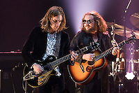 My Morning Jacket, with Carl Broemel on guitar and frontman Jim James, peform at Verizon Theatre in Grand Prarie. (Special to the Star-Telegram/Rachel Parker)