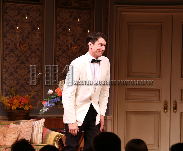 Jerry O'Connell during the Broadway Opening Night Performance Curtain Call for 'Living on Love' at The Longacre Theatre on April 20, 2015 in New York City.