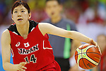 Naho Miyoshi (JPN),  AUGUST 6, 2016 - Basketball : <br /> Women's Preliminary Round <br /> between  Japan 77-73 Belorussiya  <br /> at Youth Arena <br /> during the Rio 2016 Olympic Games in Rio de Janeiro, Brazil. <br /> (Photo by Yusuke Nakanishi/AFLO SPORT)