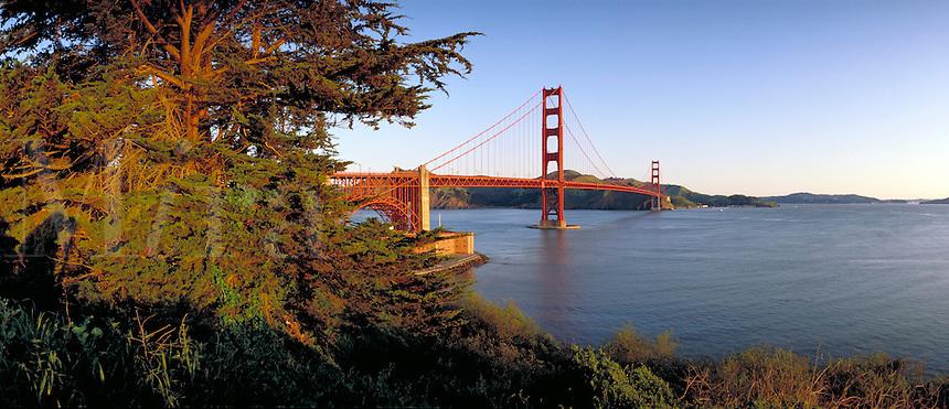Golden Gate Bridge. San Francisco California United States Golden Gate.