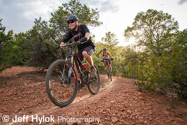Dale Ball trail group ride, International Mountain Biking Association World Summit 2012.