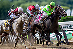June 8, 2019 : #8, Hog Creek Hustle, ridden by jockey Corey Lanerie, wins the Woody Stephens Stakes on Belmont Stakes Festival Saturday at Belmont Park in Elmont, New York. Kaz Ishida/Eclipse Sportswire/CSM