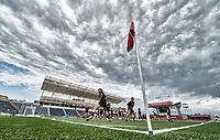 Bridgeview, IL - Saturday June 23, 2018: Chicago Red Stars vs Utah Royals FC at Toyota Park.