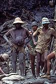 Para State, Brazil; garimpeiro mine workers in the Serra Pelada gold mine.