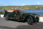 Doug and Diane Magee from USA who are members of the 'Wholly Ghost&quot;, Rolls Royce vintage car club and are pictured touring through Kerry this week. The cars are pre World War 1 and are touring Ireland.<br /> Picture by Don MacMonagle