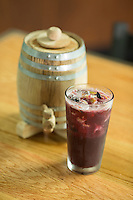 House Bourbon Sangria at The Oak Scratch Kitchen and Bourbon Bar in Raleigh, N.C. on Thursday, July 31, 2014. (Justin Cook)