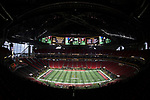 ATLANTA, GA - JANUARY 08: The Alabama Crimson Tide takes on the Georgia Bulldogs during the College Football Playoff National Championship held at Mercedes-Benz Stadium on January 8, 2018 in Atlanta, Georgia. (Photo by Jamie Schwaberow/Getty Images)