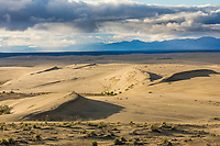 The sand dunes in the Kobuk Valley National Park, Arctic, Alaska.
