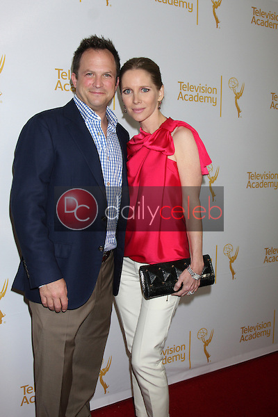 LOS ANGELES - JUN 19:  Scott Martin, Lauralee Bell at the ATAS Daytime Emmy Nominees Reception at the London Hotel on June 19, 2014 in West Hollywood, CA