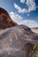 Ancient Petroglyphs in Southern Utah, Fremont Culture rock art