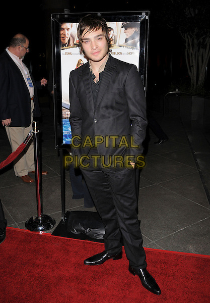 """ED WESTWICK.Attends Overature Film's L.A. Premiere of """"Sleepwalking"""" held at The DGA in West Hollywood, California, USA, .March 06 2008.                                                                     full length black suit.CAP/DVS.??Debbie VanStory/Capital Pictures"""