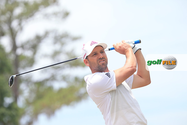 Sergio Garcia (SPN)  during the Final Round of The Players, TPC Sawgrass, Ponte Vedra Beach, Jacksonville.   Florida, USA. 15/05/2016.<br /> Picture: Golffile | Mark Davison<br /> <br /> <br /> All photo usage must carry mandatory copyright credit (&copy; Golffile | Mark Davison)