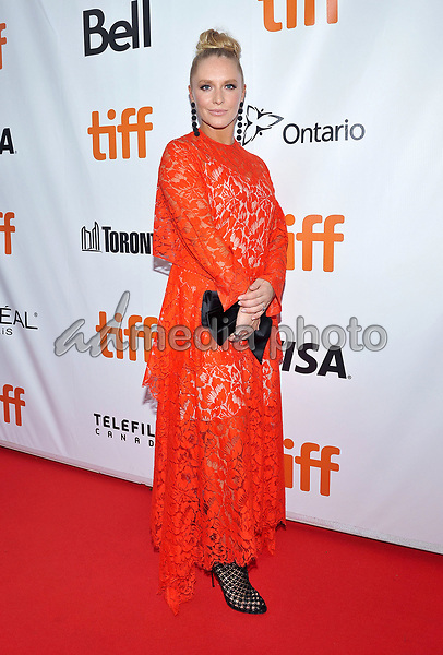 "14 September 2017 - Toronto, Ontario Canada - Annie Starke. 2017 Toronto International Film Festival - ""The Wife"" Premiere held at Roy Thomson Hall. Photo Credit: Brent Perniac/AdMedia"