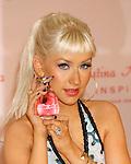 "GLENDALE, CA. - December 05: Christina Aguilera attends the Launch of Christina Aguilera's perfume ""Inspire"" at Macy's Glendale  Galleria on December 5, 2008 in Glendale California."