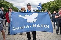 2020/05/30 Politik   Berlin   Kundgebung gegen US-Airbase