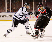 Kailey Chappell (UNH - 19), Lindsay Berman (NU - 13) - The University of New Hampshire Wildcats defeated the Northeastern University Huskies 5-3 (EN) on Friday, January 8, 2010, at Fenway Park in Boston, Massachusetts as part of the Sun Life Frozen Fenway doubleheader.