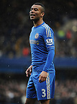 Ashley Cole of Chelsea in action during the Barclays Premiere League match between Chelsea and West Ham United at Stamford Bridge on Sunday March 17, 2013 in London, England Picture Zed Jameson/pixel 8000 ltd.