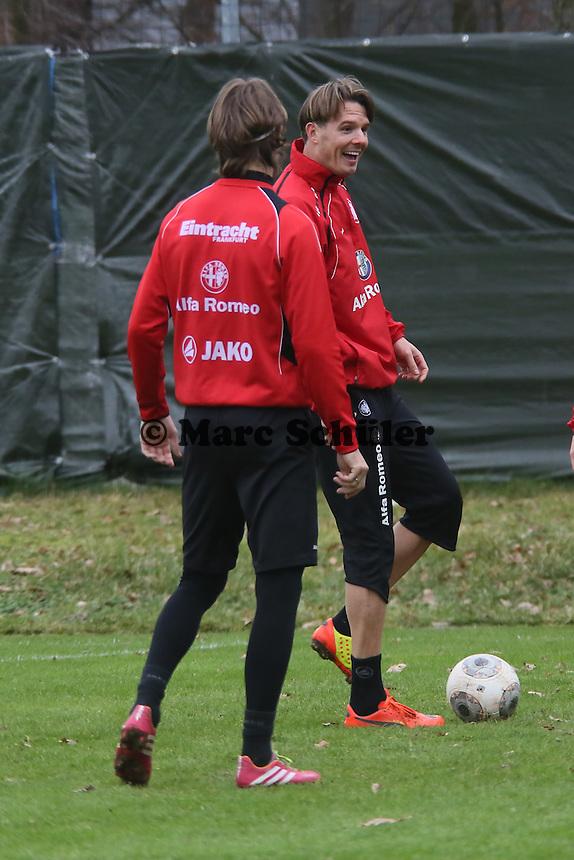 Martin Lanig und Alex Meier (Eintracht)