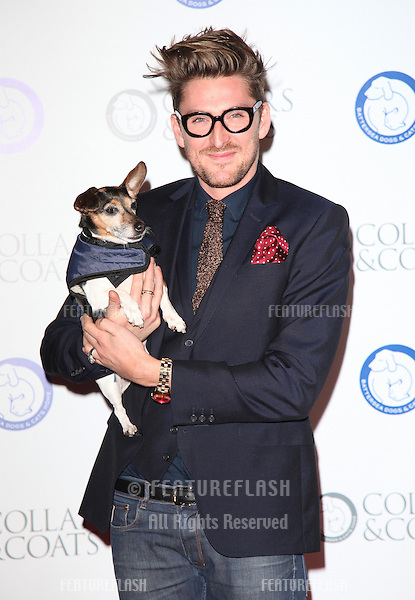 Henry Holland arriving for the Collars And Coats Ball, at Battersea Evolution, London. 08/11/2012 Picture by: Alexandra Glen / Featureflash