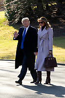 resident Donald J. Trump Departs for Mar-a-Lago