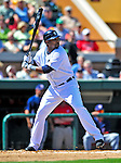 5 March 2009: Detroit Tigers' outfielder Marcus Thames in action during a Spring Training game against the Washington Nationals at Joker Marchant Stadium in Lakeland, Florida. The Tigers defeated the visiting Nationals 10-2 in the Grapefruit League matchup. Mandatory Photo Credit: Ed Wolfstein Photo