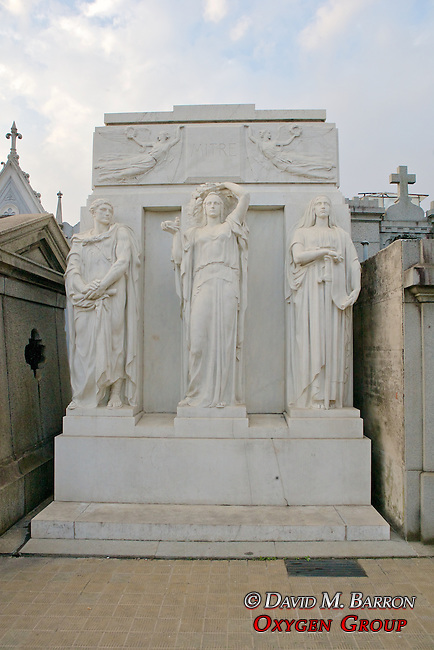 Tomb Of Bartolomé Mitre (former President of Argentina) , La Recoleta Cemetery