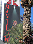 BARRY MANILOW - MUSIC AND PASSION.playing at the Vegas Hilton Hotel in Las Vegas, Nevada...July 7, 2005.