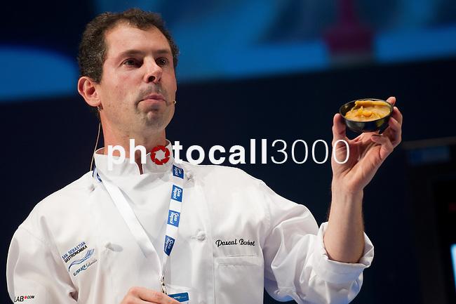 Pascal Barbot, Rest. L'Astrance (París). Feria de gastronomía San Sebastián Gastronomika. Congreso Internacional de Gastronomía con lo mejor de la gastronomía vasca, española y mundial