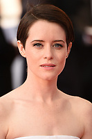 Claire Foy arriving for the BAFTA TV Awards 2018 at the Royal Festival Hall, London, UK. <br /> 13 May  2018<br /> Picture: Steve Vas/Featureflash/SilverHub 0208 004 5359 sales@silverhubmedia.com