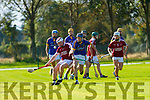 Daniel Mahoney Causeway and Shane Conway tussel for the ball during the County U21 Hurling championship SF played in Lixnaw on Sunday