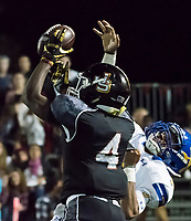 Serra Catholic High School, vs. Bishop Amat High School football action.