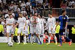 Real Madrid - Kobenhavn . Partido de UEFA Champions League<br /> Angel Di Maria celebra su gol<br /> PHOTOCALL3000/ DP