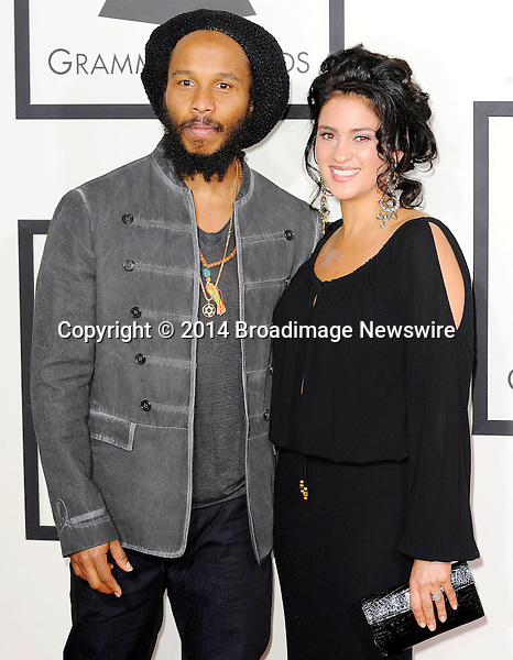 Pictured: Ziggy Marley<br /> Mandatory Credit &copy; Adhemar Sburlati/Broadimage<br /> The Grammy Awards  2014 - Arrivals<br /> <br /> 1/26/14, Los Angeles, California, United States of America<br /> <br /> Broadimage Newswire<br /> Los Angeles 1+  (310) 301-1027<br /> New York      1+  (646) 827-9134<br /> sales@broadimage.com<br /> http://www.broadimage.com