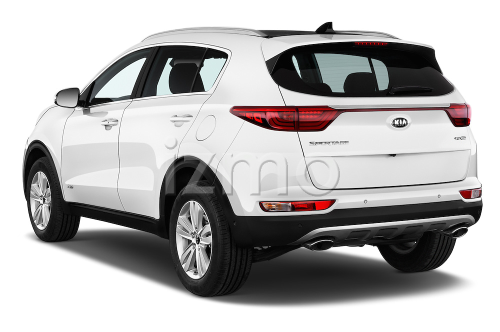 Car pictures of rear three quarter view of 2016 KIA Sportage GT-Line 5 Door Suv Angular Rear