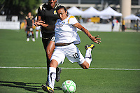 Marta shoots on goal..LA Sol 2-0, over FC Gold, Sunday, May 24, 2009, at Buck Shaw Stadium, in Santa Clara, California.