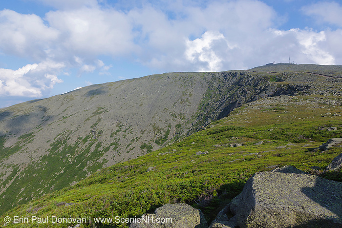 Appalachian Trail - Mount Washington from Mount Clay in the White Mountains, New Hampshire USA