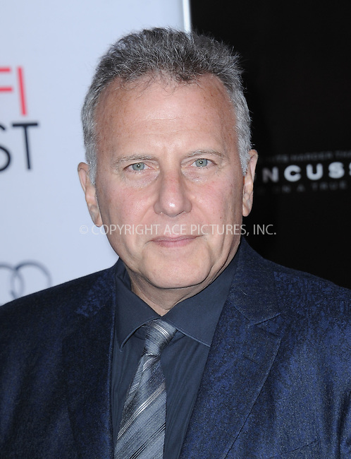 WWW.ACEPIXS.COM<br /> <br /> November 10 2015, LA<br /> <br /> Paul Reiser attends the AFI FEST 2015 Gala Premiere of 'Concussion' at the TCL Chinese Theatre on November 10, 2015 in Hollywood, California.<br /> <br /> By Line: Peter West/ACE Pictures<br /> <br /> <br /> ACE Pictures, Inc.<br /> tel: 646 769 0430<br /> Email: info@acepixs.com<br /> www.acepixs.comC