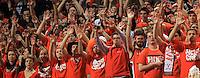Virginia fans during the game Wednesday Jan. 7, 2015 in Charlottesville, Va. Virginia won 61-51.