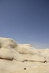 Israel, Negev, Hamukei Nitzana –a geological phenomenon in sandstone
