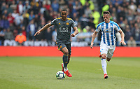 Leicester City's Youri Tielemans and Huddersfield Town's Jonathan Hogg <br /> <br /> Photographer Stephen White/CameraSport<br /> <br /> The Premier League - Huddersfield Town v Leicester City - Saturday 6th April 2019 - John Smith's Stadium - Huddersfield<br /> <br /> World Copyright © 2019 CameraSport. All rights reserved. 43 Linden Ave. Countesthorpe. Leicester. England. LE8 5PG - Tel: +44 (0) 116 277 4147 - admin@camerasport.com - www.camerasport.com