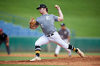 Philip Abner (16) of Charlotte Christian High School in Charlotte, NC during the Perfect Game National Showcase at Hoover Metropolitan Stadium on June 18, 2020 in Hoover, Alabama. (Mike Janes/Four Seam Images)